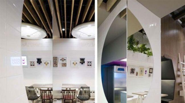 动感时尚气氛的餐厅设计案例