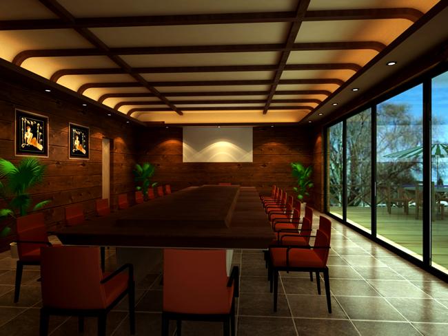 余杭诺凯会所改造设计效果图方案 (杭州)