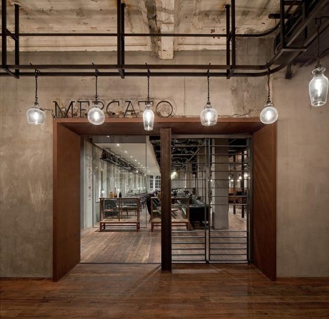原生态气息的餐厅设计案例