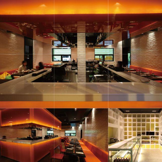 餐饮空间设计师作品(上海)
