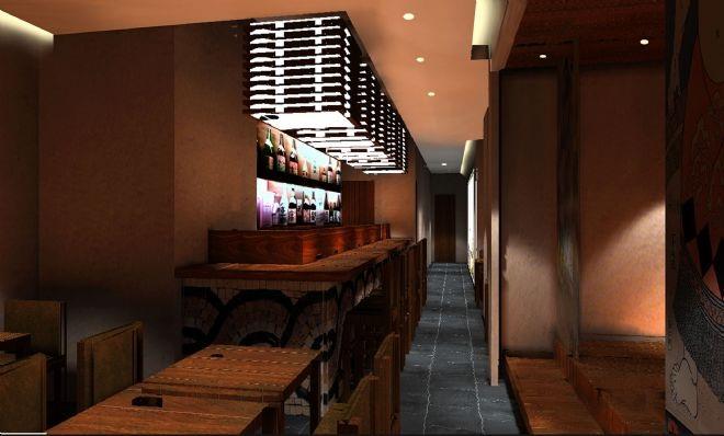 日本料理店设计案例(上海)