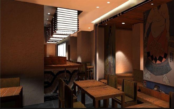 日本料理餐厅设计案例(上海)