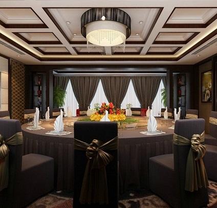标签:大酒店效果图设计_上海餐厅设计案例餐饮设计之窗