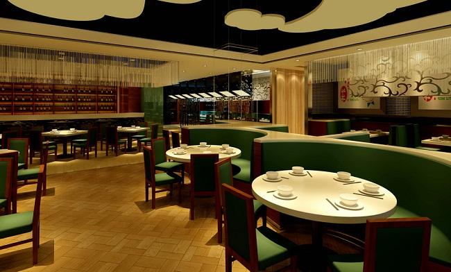 奉贤快餐厅室内装修设计(上海)