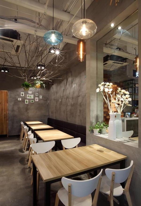 """回归""""自然""""概念餐厅设计案例"""