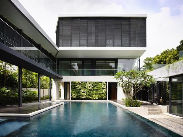 别墅建筑与室内一体设计案例图片