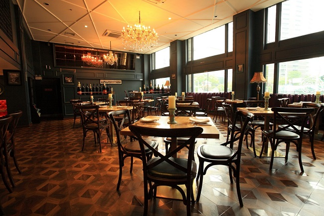 菲普仕纽约扒房西餐厅设计(上海)