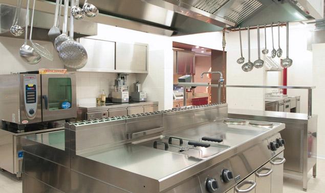 餐饮店厨房设备功能分区及注意事项