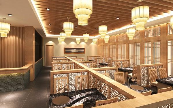 """盐城""""东沽元""""韩国餐厅设计案例(江苏)"""