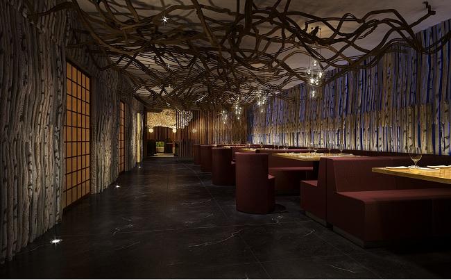 上海烧烤餐厅设计效果图