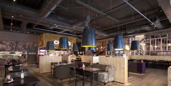 时尚西餐厅设计案例图片