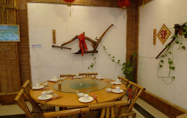 农家菜餐馆设计师概念案例_农家乐_餐饮设计农家菜馆
