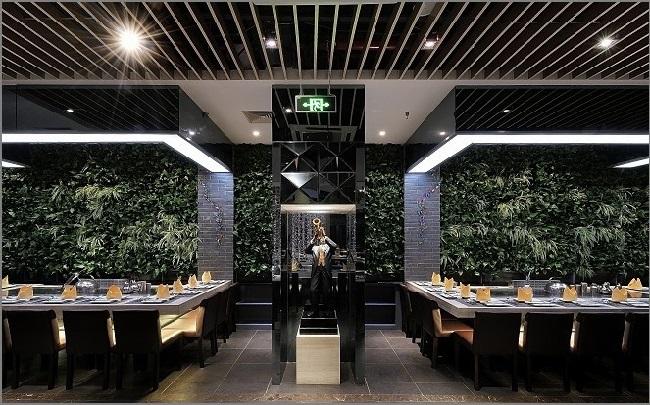 浅谈铁板烧餐厅装修布局的设计