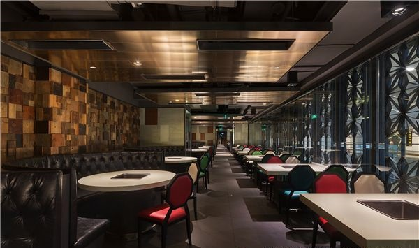 合肥海底捞火锅餐厅设计(中国)