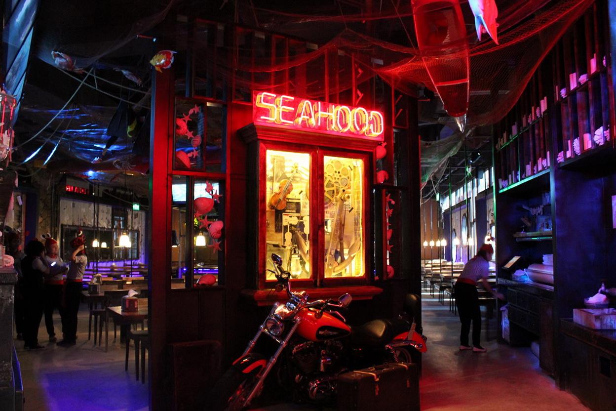 """没有去过""""seahood""""水货餐厅就不算是吃货!"""