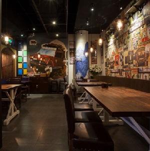 """""""年代秀饭堂""""主题餐厅设计(上海)"""