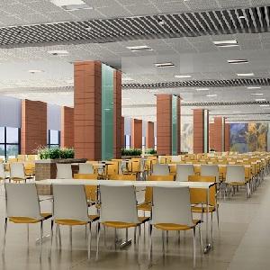 厂区员工食堂效果图设计(上海)