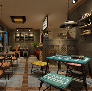 案例设计_餐饮设计_上海餐饮设计房屋餐厅餐馆815米深设计米宽图片