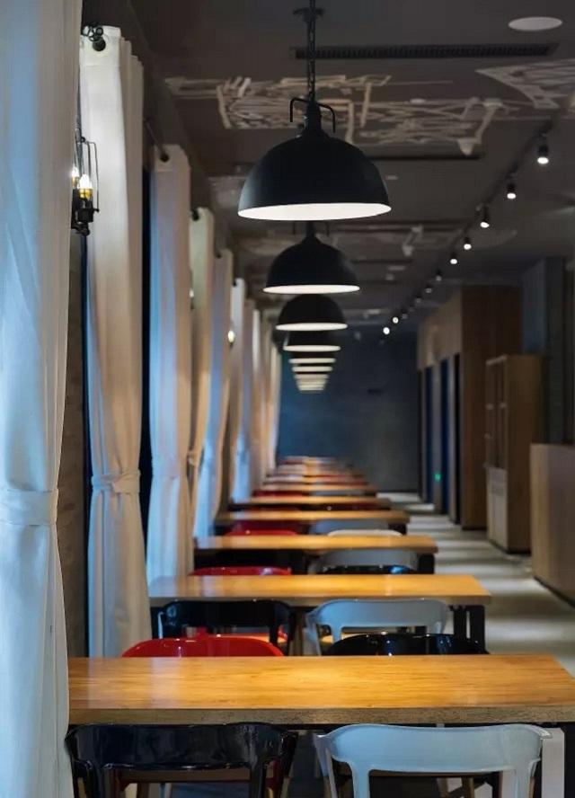"""独立设计师:""""花美城""""创意餐厅设计(广东)"""