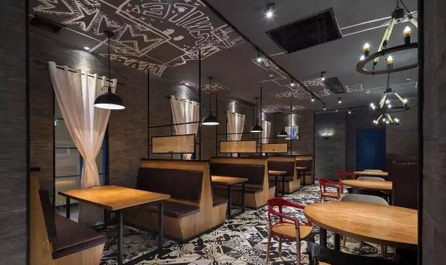 """普宁""""花美城""""创意餐厅设计案例(广东)"""