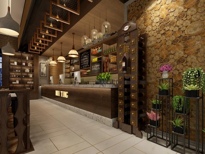 """古北高岛屋""""荟廷""""创意餐厅设计(上海)"""