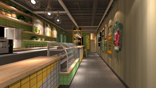 """德必运动LOFT""""猫山王""""甜品店创意设计(上海)"""