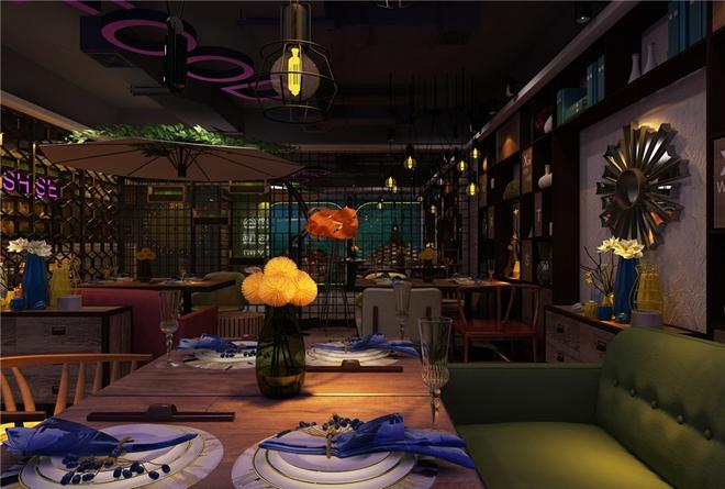 """""""食色""""新文化主题餐厅设计(抚顺)"""
