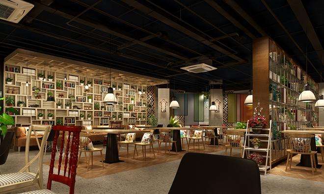 """""""手物""""韩式料理餐厅设计案例(南京)"""
